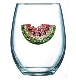 STEMLESS WATERMELON GLASS