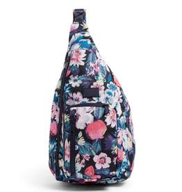 VERA BRADLEY ReActive Mini Sling Backpack Garden Picnic