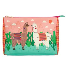 SASS & BELLE Cosmetic Bag Lima Llama