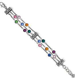 BRIGHTON Elora Gems Tri Strand Bracelet