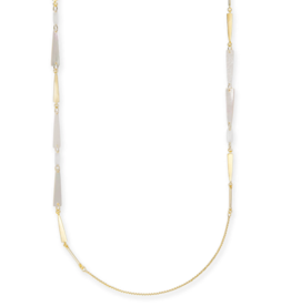 KENDRA SCOTT Aylin Necklace Gold Ivory Mix