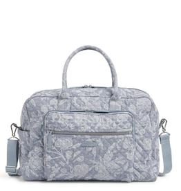 VERA BRADLEY Iconic Weekender Travel Bag Park Lace