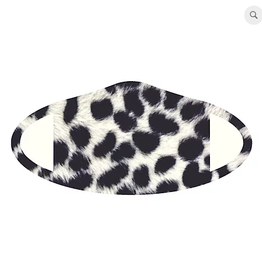 THE NO COMPANY INC Face Mask Snow Leopard Deco
