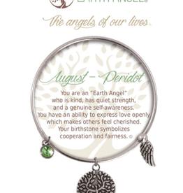 THOUGHTFUL ANGELS Birthstone Bracelet August