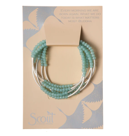 SCOUT CURATED WEARS SCOUT WRAP TURQUOISE/MATTE SILVER