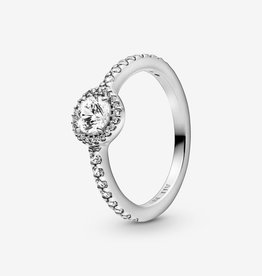 PANDORA Classic Sparkle Halo Ring: Select Size