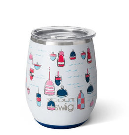 SWIG LIFE 14oz Stemless Wine Cup Scout Buoy oh Buoy