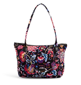 VERA BRADLEY Carson East West Tote Foxwood