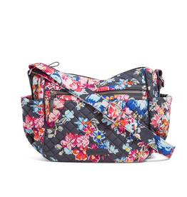 VERA BRADLEY Iconic On the Go Crossbody Pretty Posies