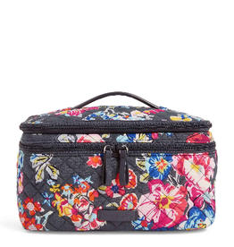VERA BRADLEY Iconic Brush Up Cosmetic Case Pretty Posies
