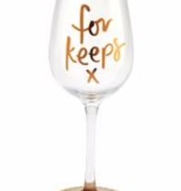 GAELTAG KELTIKA For Keeps Wine Glass