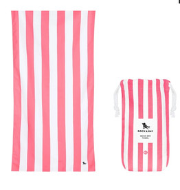 DOCK & BAY Cabana Kuta Pink Large Drying Towel