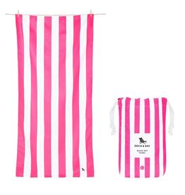 DOCK & BAY Cabana Phi Phi Pink Large Drying Towel