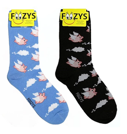 FOOZY'S Flying Pigs Socks