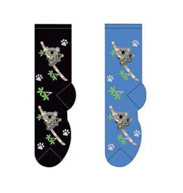 FOOZY'S Unisex Crew Socks Koala Mom & Baby