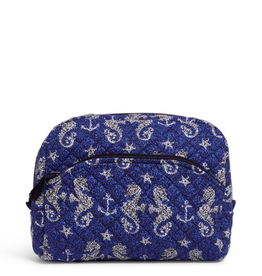 VERA BRADLEY Iconic Large Cosmetic Seahorse of Course