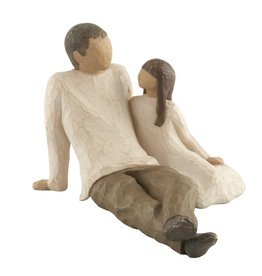 Willow Tree Figurines-Father & Daughter
