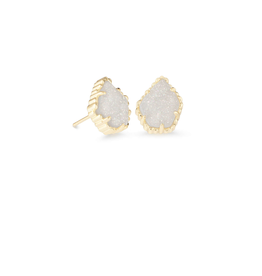 KENDRA SCOTT Earring Tessa Gold Iridescent Drusy