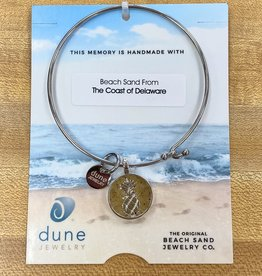 DUNE JEWELRY Beach Bangle COAST OF DELAWARE (Pineapple Medallion)