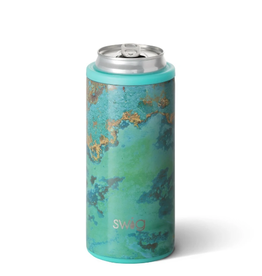 SWIG LIFE 12oz Skinny Can Cooler Copper Patina