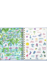 LILLY PULITZER 17 Month Agenda Large