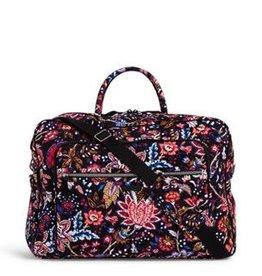 VERA BRADLEY 22118 Iconic Grand Weekender Travel Bag Foxwood