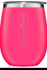 BRUMATE LLC UNKORK'D Wine Tumbler Neon Pink 14oz