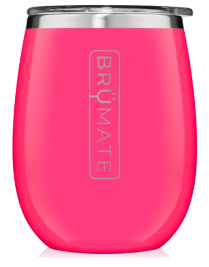 14 oz UNKORK'D Wine Tumbler Neon Pink