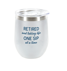 ONE SIP - 12 OZ STEMLESS TUMBLER