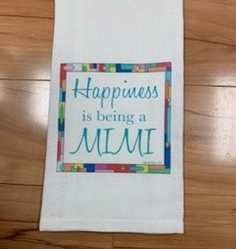 JAZZY ARTZ Kitchen Towel- Happiness is Being A Mimi