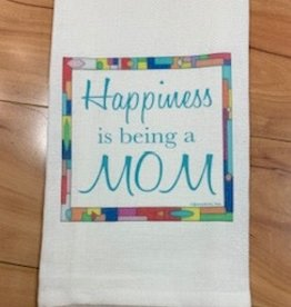 JAZZY ARTZ Kitchen Towel- Happiness is Being A Mom