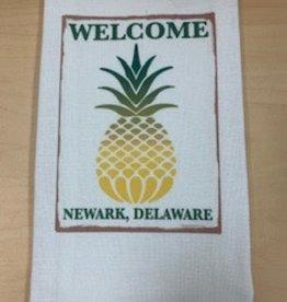 JAZZY ARTZ Kitchen Towel- Welcome Newark Delaware