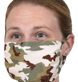 SOUTHWIND APPAREL Face Mask Spandex / Nylon-Green Camouflage
