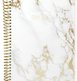 BLOOM 2020-2021 Soft Cover Planner (Marble)
