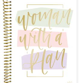 BLOOM 2020-2021 Soft Cover Planner (Woman With A Plan)