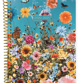 BLOOM 2020-2021 Soft Cover Planner (Wildflowers)