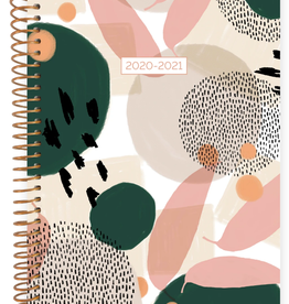 BLOOM 2020-2021 Soft Cover Planner (Modern Abstract)