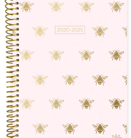 BLOOM 2020-2021 Soft Cover Planner (Gold Bees)