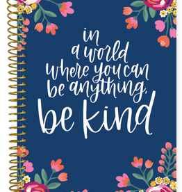 BLOOM 2020-2021 Soft Cover Planner (Be Kind)
