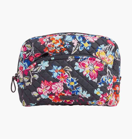 VERA BRADLEY 22517 Iconic Large Cosmetic Pretty Posies