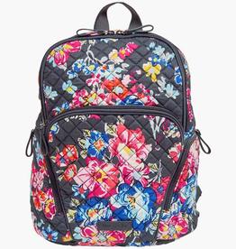 VERA BRADLEY 22597 Iconic Campus Backpack Pretty Posies