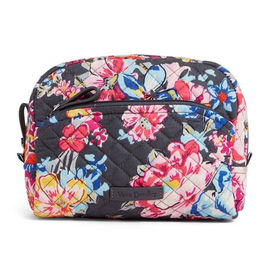 VERA BRADLEY 22518 Iconic Medium Cosmetic Pretty Posies