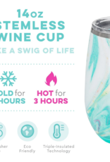 SWIG LIFE 14 oz. Stemless Wine Cup Wanderlust