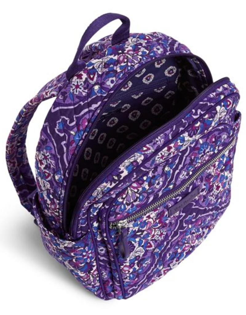 VERA BRADLEY Iconic Small Backpack Regal Rosette