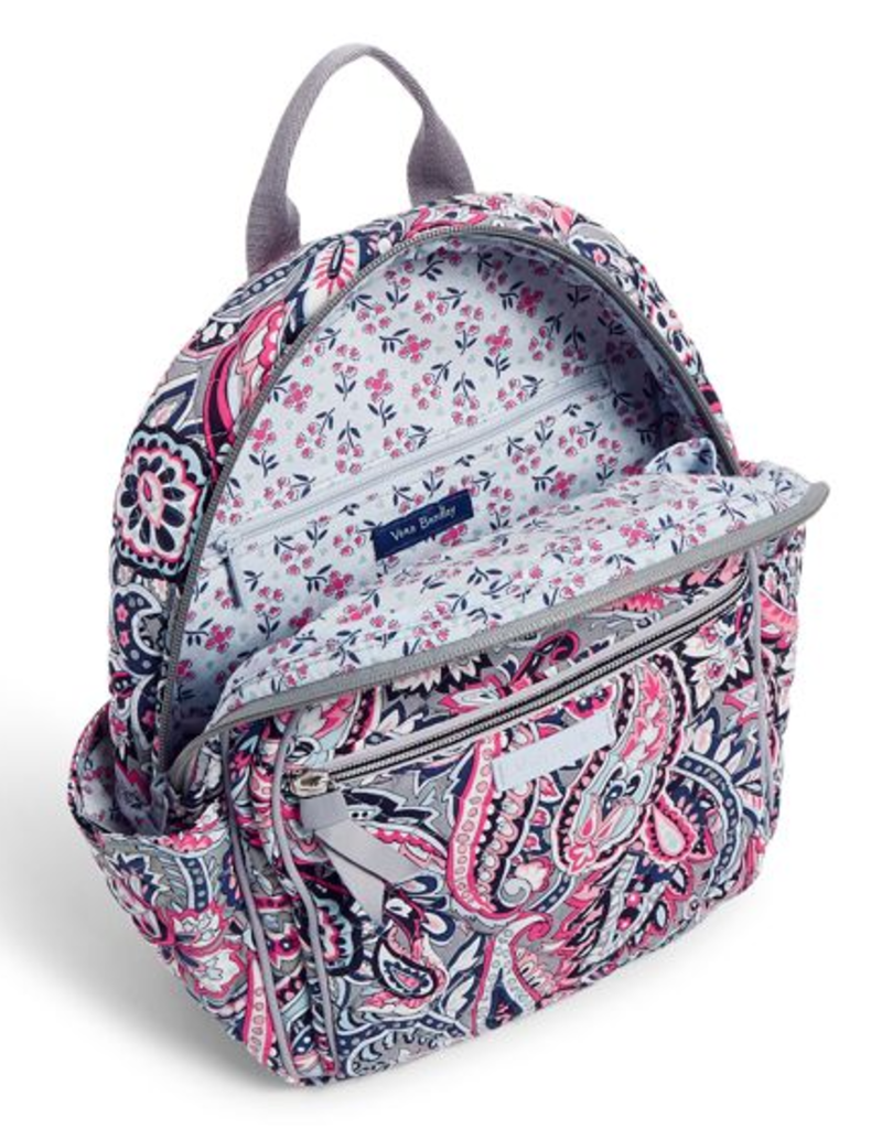 VERA BRADLEY Iconic Small Backpack Gramercy Paisley