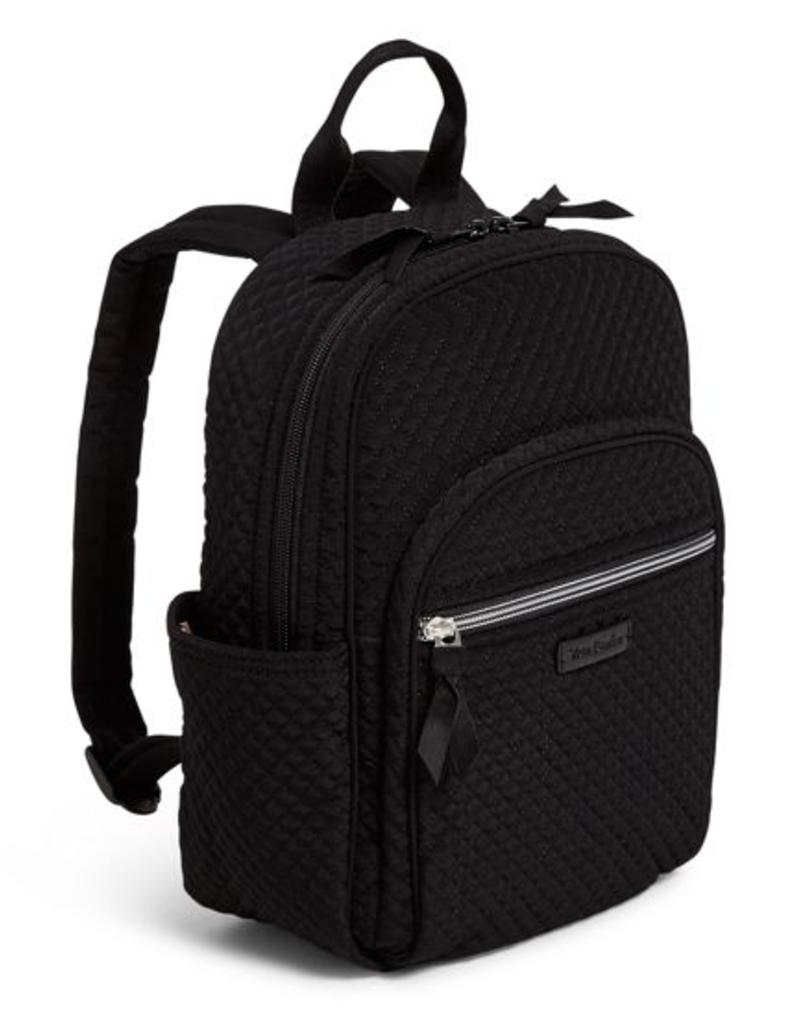VERA BRADLEY Iconic Small Backpack Classic Black