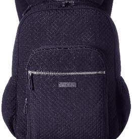 VERA BRADLEY Iconic Campus Backpack Classic Navy