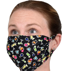 SOUTHWIND APPAREL Face Mask Spandex / Nylon-5 O'clock