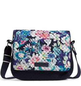 VERA BRADLEY Iconic RFID Small Turnabout Crossbody Garden Grove