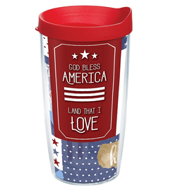 TERVIS TUMBLER 16 oz Tumbler Coton Colors™ - God Bless America